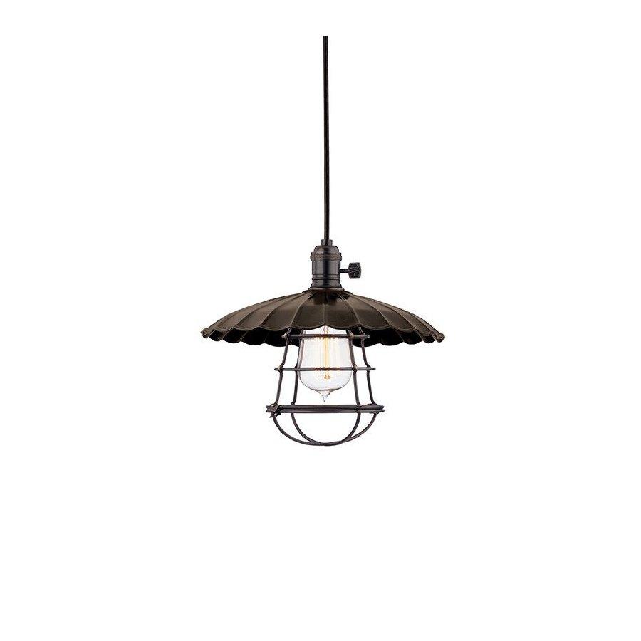 Hudson Valley Heirloom 1 Light Pendant - Old Bronze 8001-OB-MS3-WG