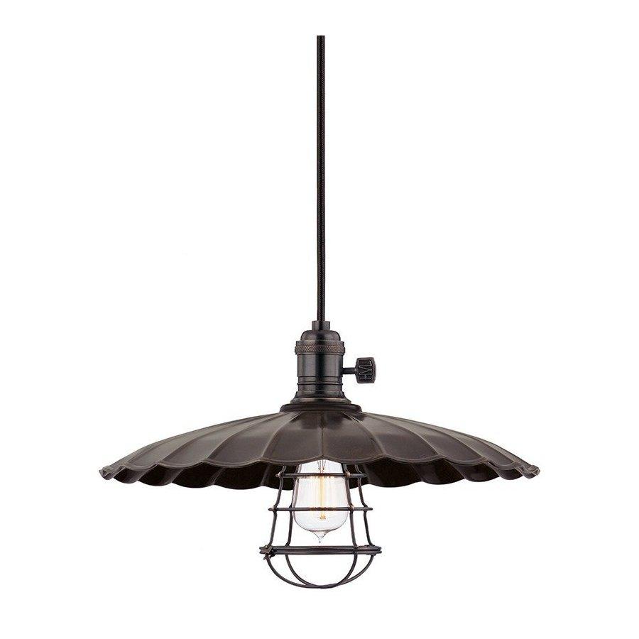 Hudson Valley Heirloom 1 Light Pendant - Old Bronze 8002-OB-ML3-WG