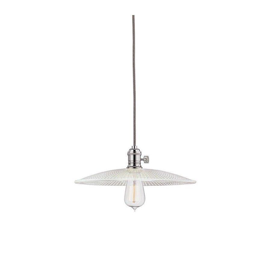 Hudson Valley Heirloom 1 Light Pendant - Polished Nickel 8002-PN-GS4