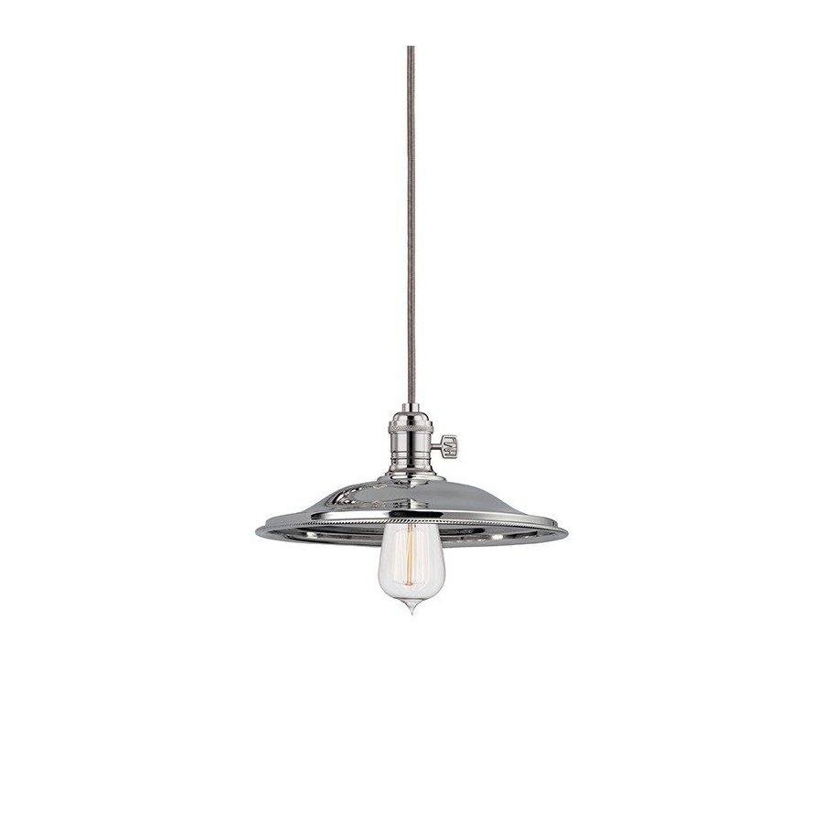 Hudson Valley Heirloom 1 Light Pendant - Polished Nickel 8002-PN-MS2