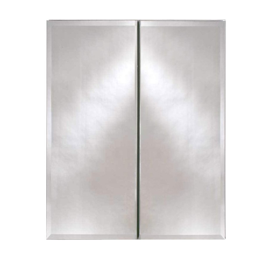 "Afina Broadway 25"" Wall Mount Mirrored Medicine Cabinet - Beveled DD 2519 R BRD (BV)"