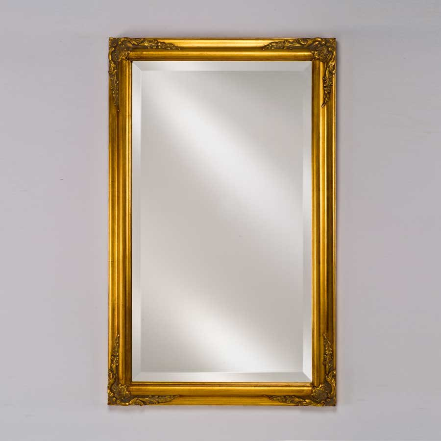 "Afina Estate 20"" Mirror - Antique Gold EC13-2026-GD"