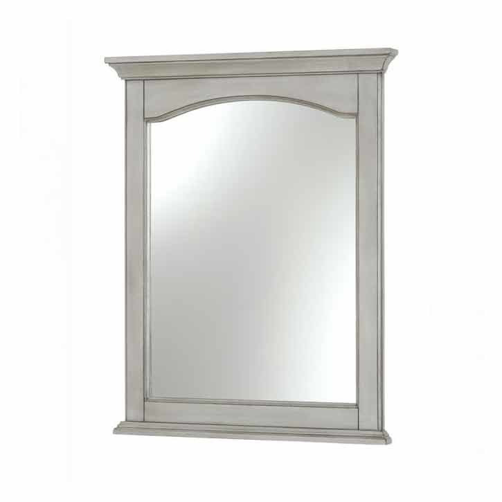 "Foremost 24"" x 30"" Corsicana Wall Mount Mirror - Antique Gray CNAGM2430"