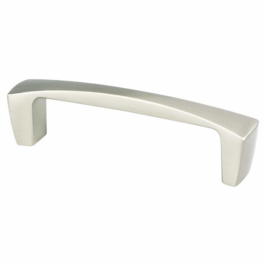 Berenson Aspire 3 3/4 Inch Center To Center Brushed Nickel Cabinet Pull 9231