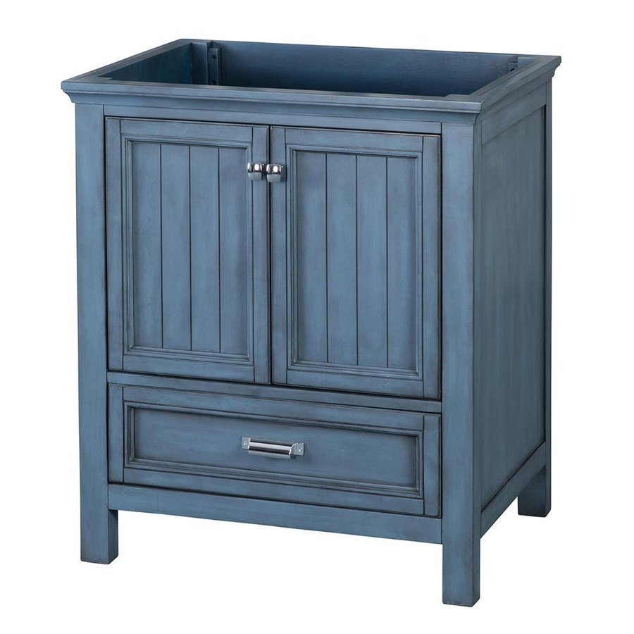Foremost 30 Inches Free Standing Brantley Vanity Only - Harbor Blue BABV3022D