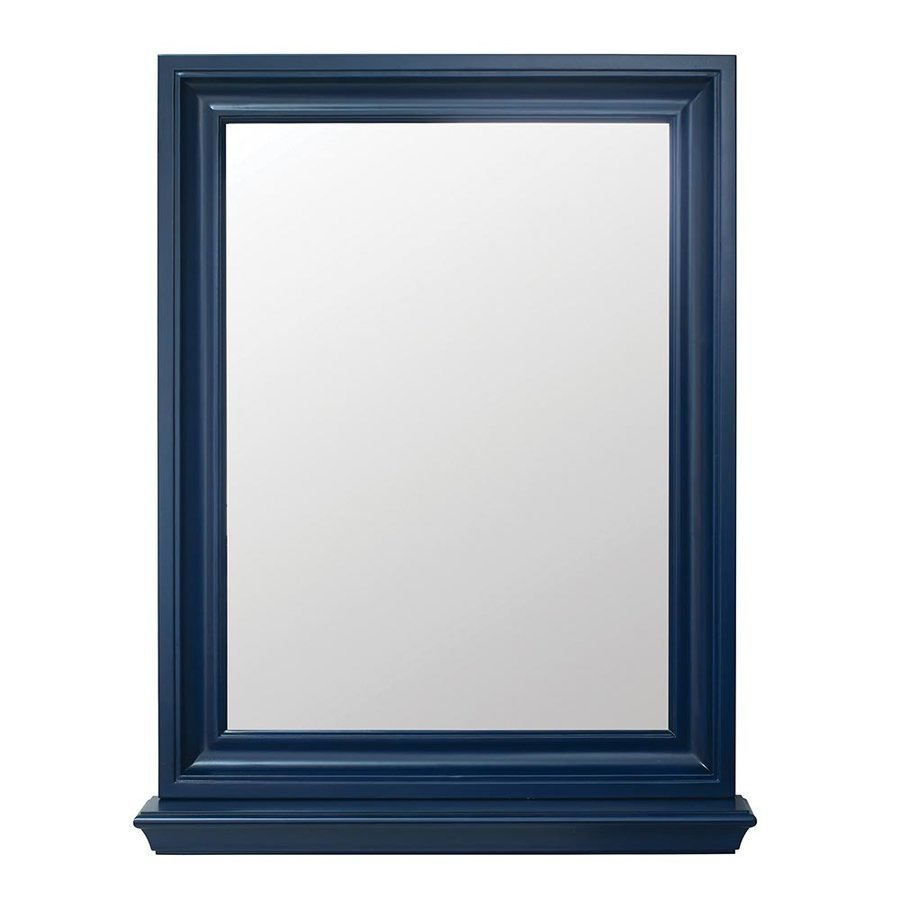 Foremost 23.125 Inches Cherie Framed Mirror - Royal Blue CHBM2430