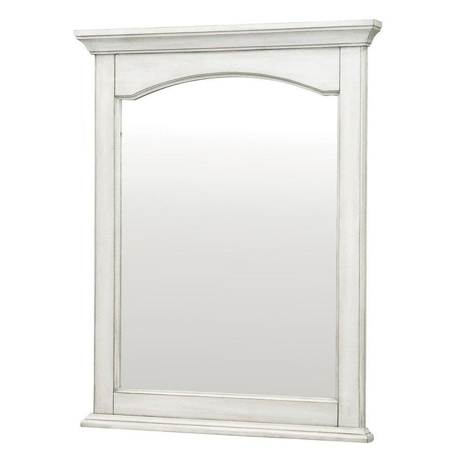 Foremost 24 Inches Corsicana Mirror - Antique White CNAWM2430