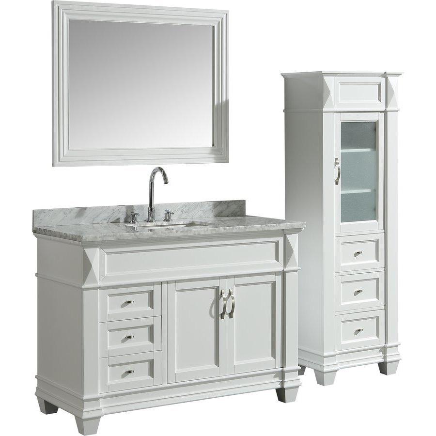 Design Element 48 Inch Hudson Single Sink Vanity Set With