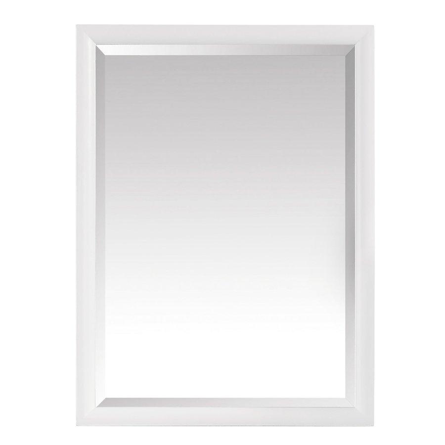 Avanity Emma 24 in. Mirror in White EMMA-M24-WT