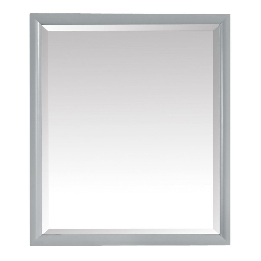 Avanity Emma 28 in. Mirror in Dove Gray EMMA-M28-DG