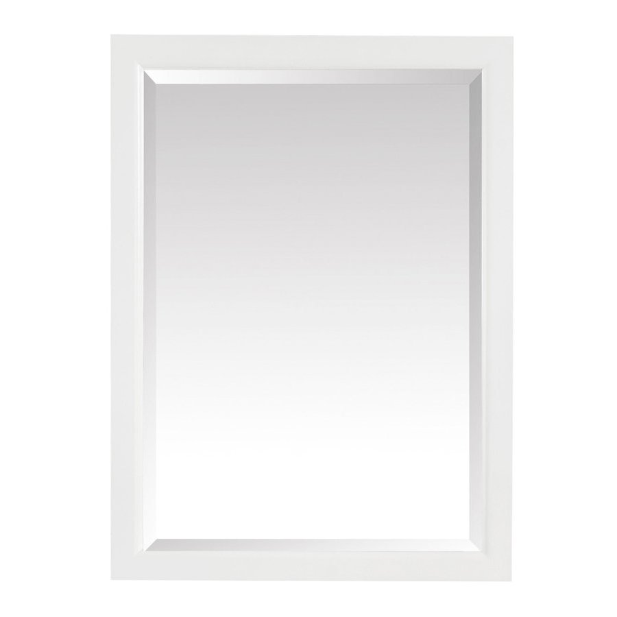 Avanity Emma 22 in. Mirror Cabinet in White EMMA-MC22-WT