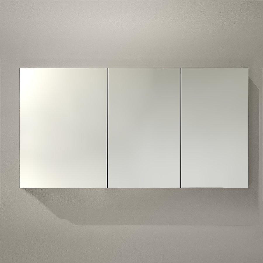 "Fresca 60"" Wide x 26"" Tall Bathroom Medicine Cabinet w/ Mirrors FMC8019"