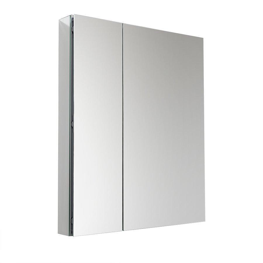 """Fresca 30"""" Wide x 36"""" Tall Bathroom Medicine Cabinet w/ Mirrors FMC8091"""