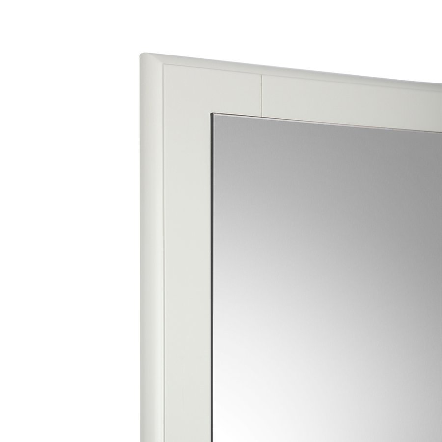 "Fresca Oxford 26"" Antique White Mirror FMR2030AW"
