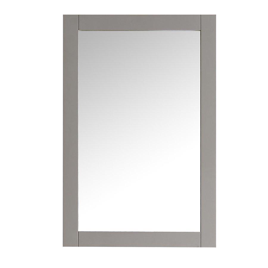 """Fresca Hartford 20"""" Gray Traditional Bathroom Mirror FMR2302GR"""