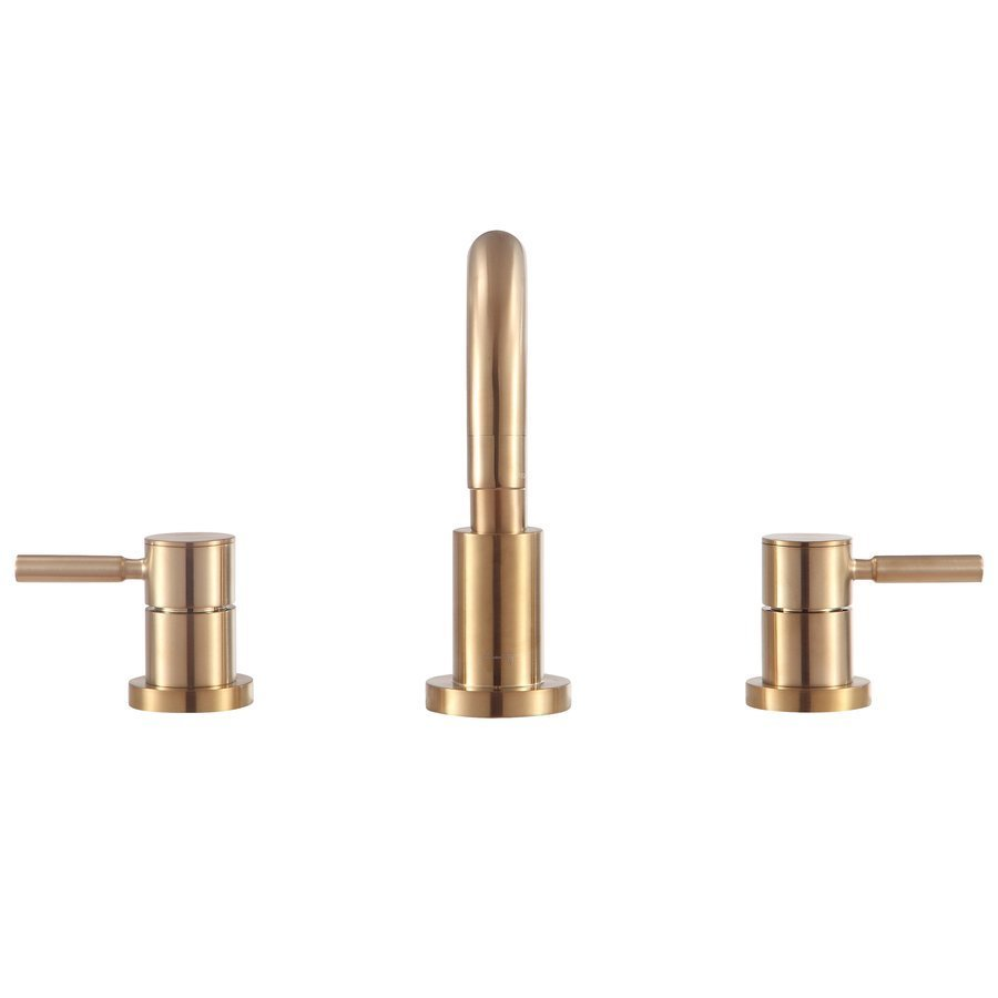 Avanity Positano 8 Inch Widespread 2-Handle Bath Faucet - Matte Gold ...