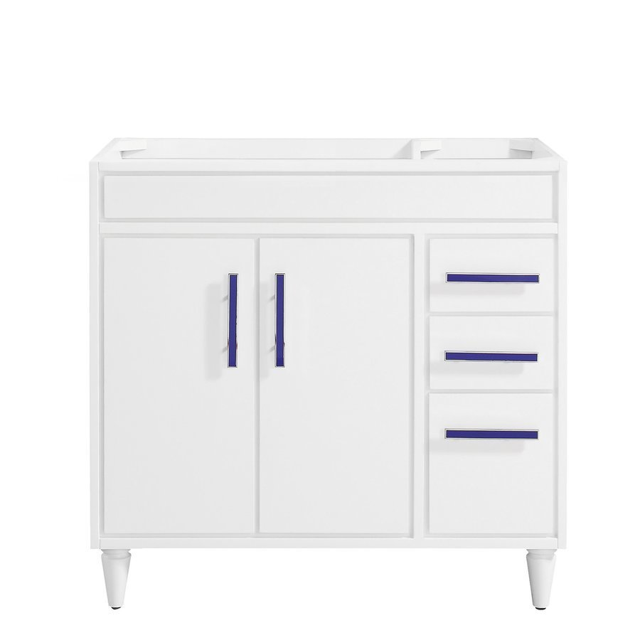 "Avanity 36"" Layla Single Vanity - White LAYLA-V36-WT"