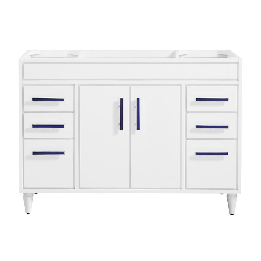 "Avanity 48"" Layla Single Vanity - White LAYLA-V48-WT"