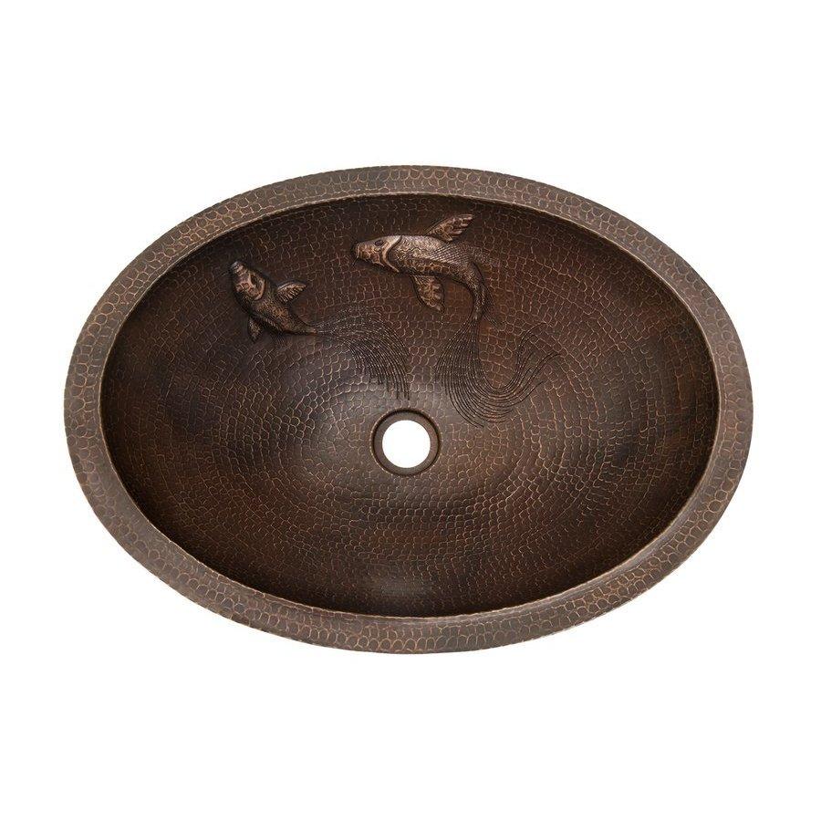 Premier Copper Products 19 x 14 Inch Undermount Bathroom ...