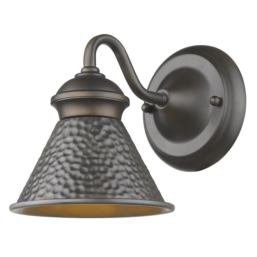 Siret Pickwick 1-Light Small Dark Sky Outdoor Sconce - Oil Rubbed Bronze ST7001-ORB