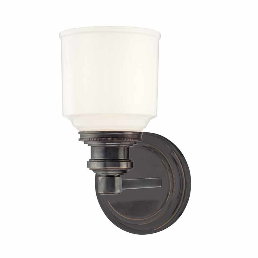 Hudson Valley Windham 1 Light Bathroom Sconce - Old Bronze 3401-OB