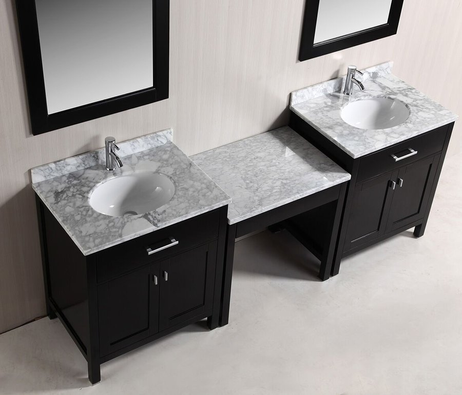 Design Element Two 30 Quot London Single Sink Vanity W Make