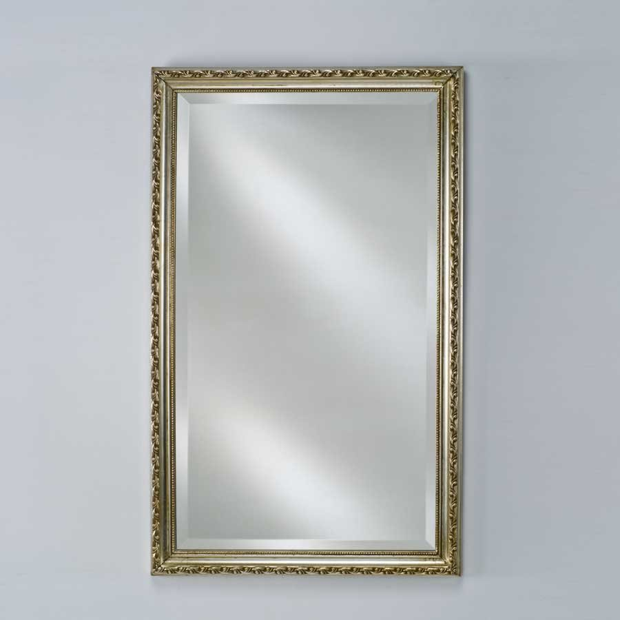 "Afina Estate 16"" Mirror - Antique Silver EC10-1626-SV"