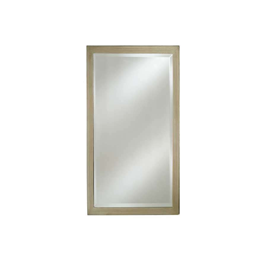 "Afina Estate 16"" Mirror - Brushed Silver EC11-1626-BS"