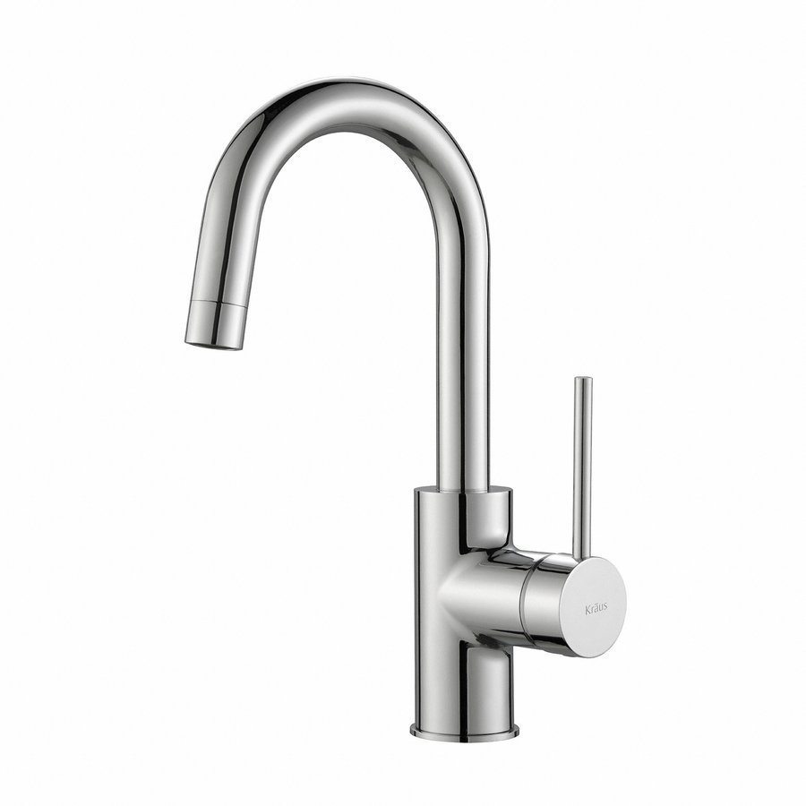 Kraus Oletto Single Handle Kitchen Bar/Prep Faucet -Chrome KPF-2600CH
