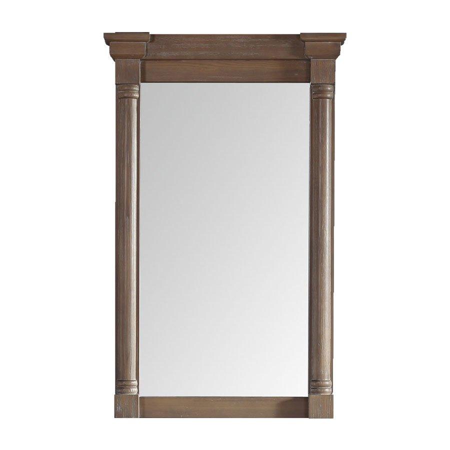 "James Martin 43"" x 27"" Savannah Wall Mount Mirror - Driftwood 238-107-5911"