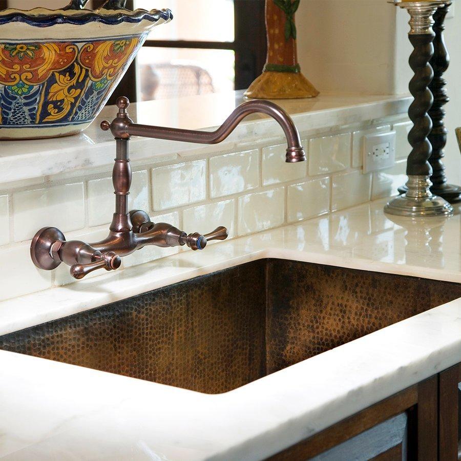 """Native Trails 33"""" x 22"""" Cocina Undermount Kitchen Sink - Antique Copper CPK272"""