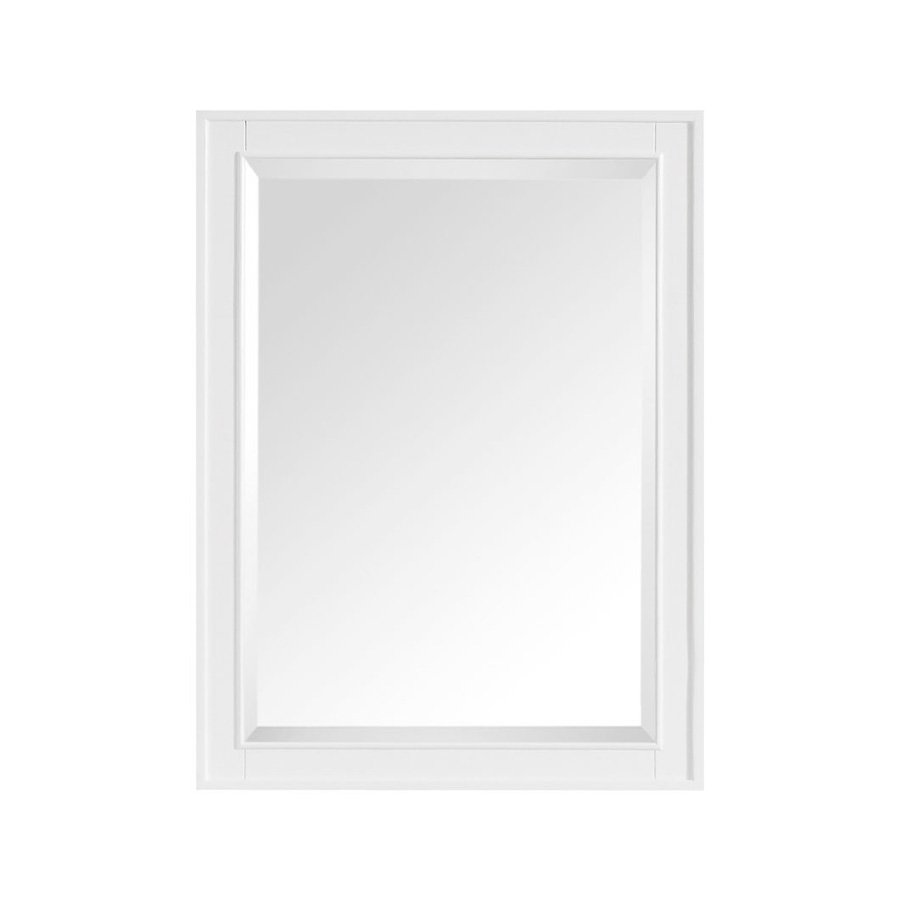 "Avanity 32"" x 24"" Madison Wall Mount Mirror - White MADISON-M24-WT"
