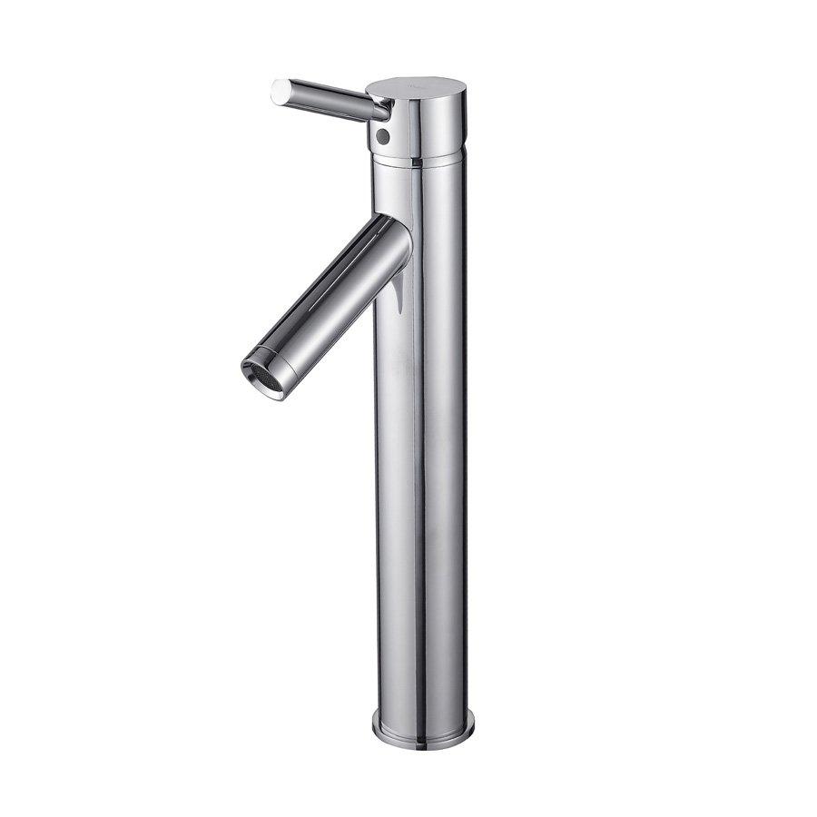 Kraus Sheven Vessel Bathroom Faucet - Chrome FVS-1002CH | J.KEATS