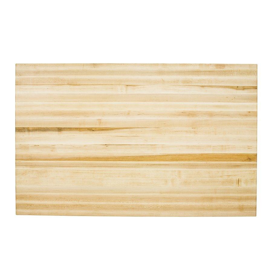 Jeffrey Alexander 54 inch Hard Maple Edge Grain Butcher Block Top Only ISL01-TOP