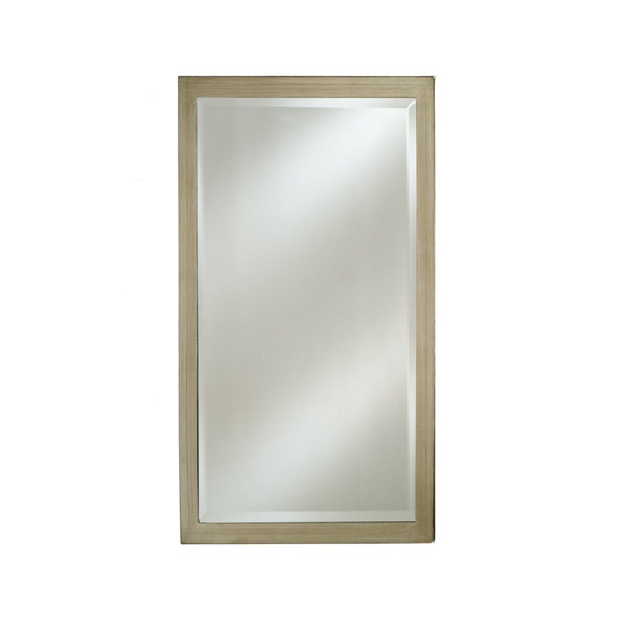 "Afina 30"" x 20"" Estate Wall Mount Mirror - Brushed Silver EC11-2030-BS"