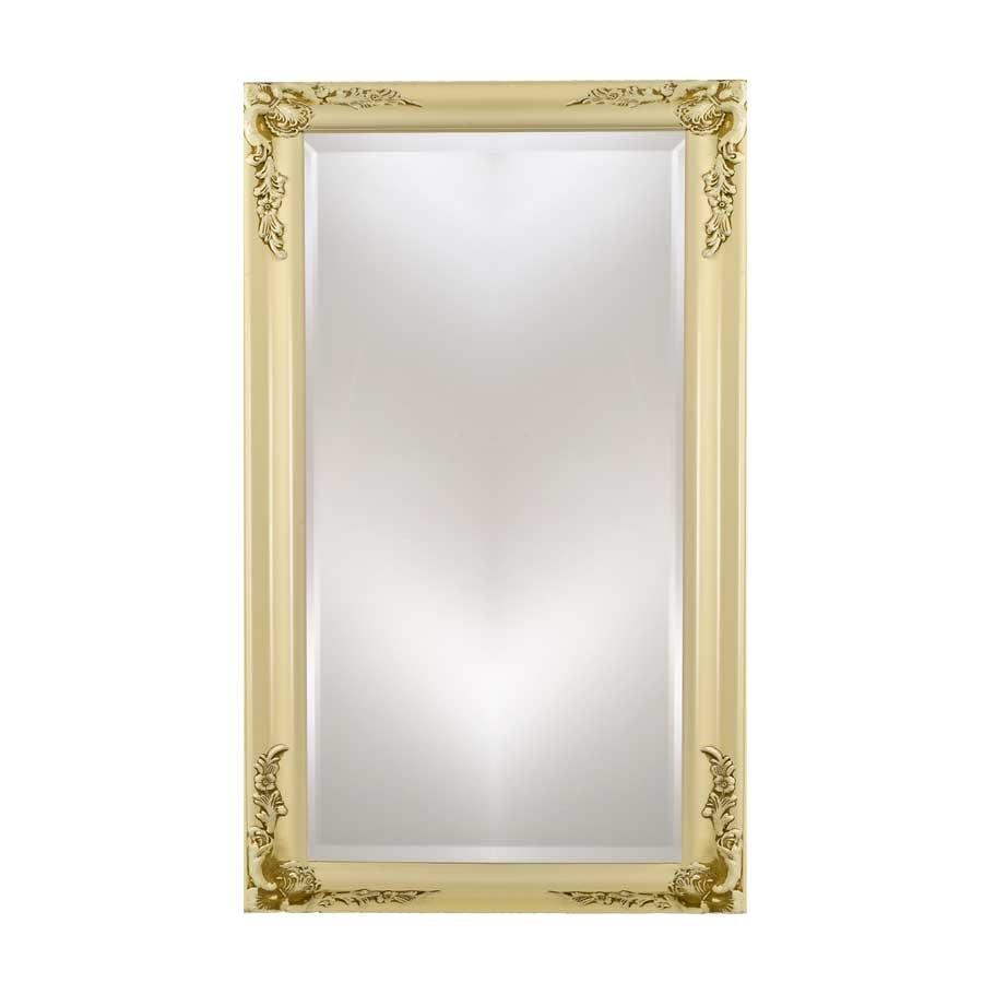 "Afina Estate 16"" Mirror - Antique Biscuit EC13-1626-BI"