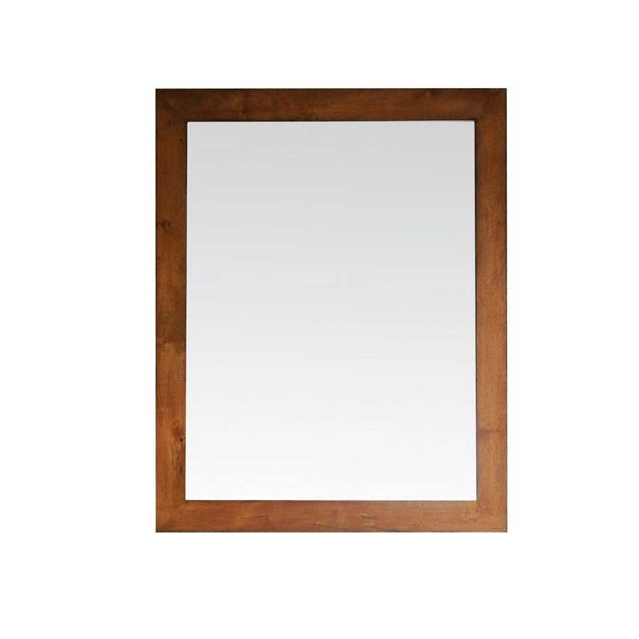 "Avanity 36"" x 1-1/4"" Legacy Wall Mount Mirror - Golden Burl LEGACY-M36-BU"