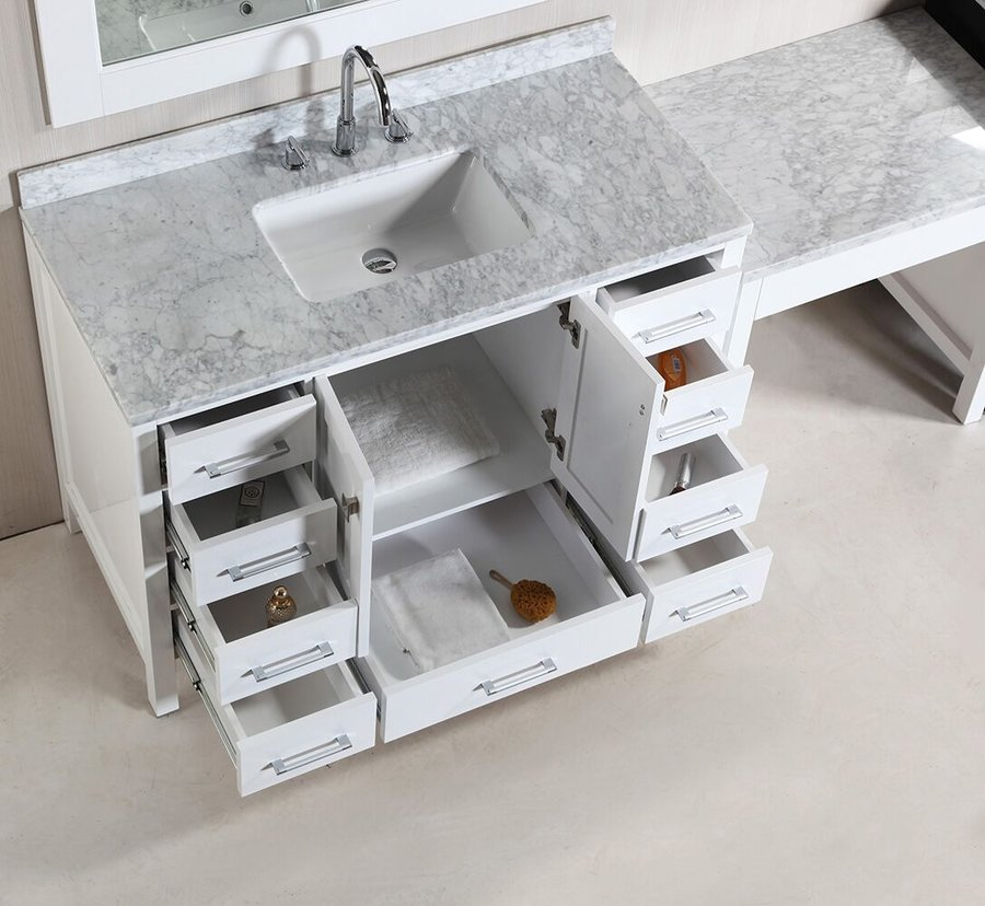 Design Element Two 48 Quot London Single Sink Vanity W Make