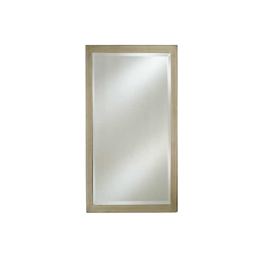 """Afina Estate 16"""" Mirror - Brushed Silver EC11-1622-BS"""
