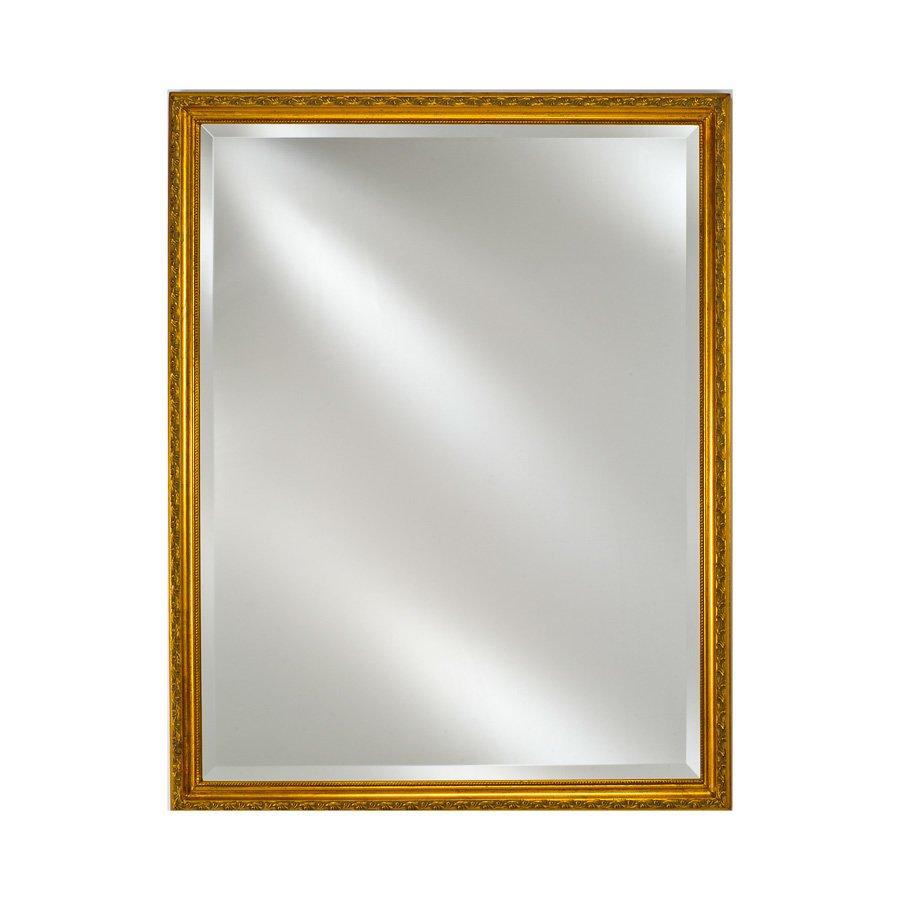 "Afina 30"" x 20"" Estate Wall Mount Mirror - Antique Gold EC10-2030-GD"