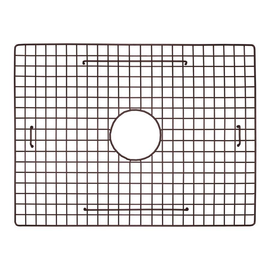 "Native Trails 22"" x 17"" Kitchen Sink Bottom Grid - Mocha GR2217-M"