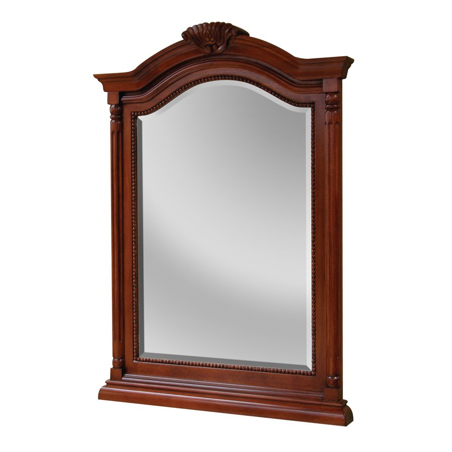 "Foremost 26"" x 35"" Wingate Wall Mount Mirror - Deep Cherry WIM2635"