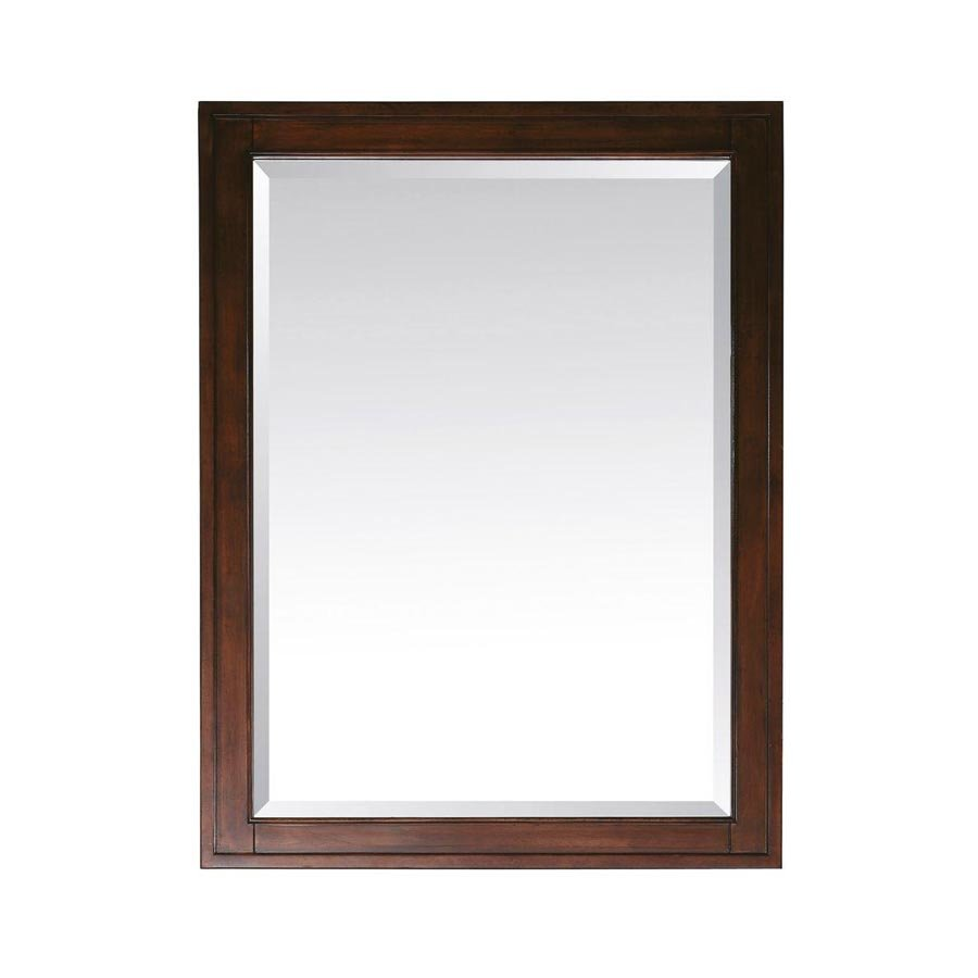 Avanity Madison 28 in. x 32 in. Mirror in Tobacco MADISON-M28-TO