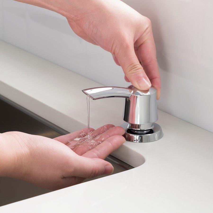 Kraus 17 oz. Chrome Soap Dispenser KSD-51CH