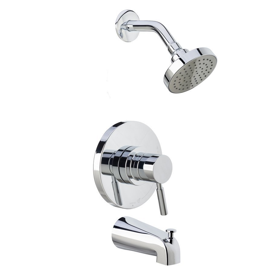 Miseno Mia Tub and Shower Trim Package with Single Function Shower - Polished Chrome MTS550515SCP