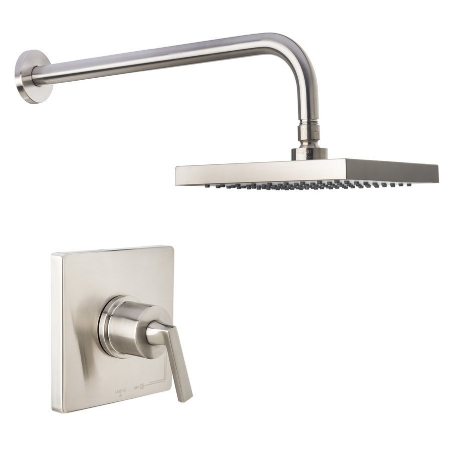 Miseno Elysa Shower Trim Package with Single Function Rain Shower Head R - Brushed Nickel MS650625RBN