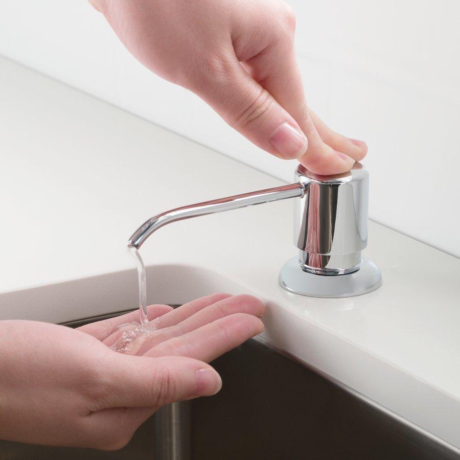 Kraus 17 oz. Chrome Soap Dispenser KSD-53CH