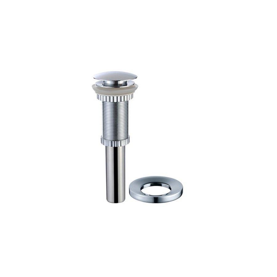 Kraus Vessel Sink Pop-Up Drain & Mounting Ring Set Chrome PU-10-MR-1CH