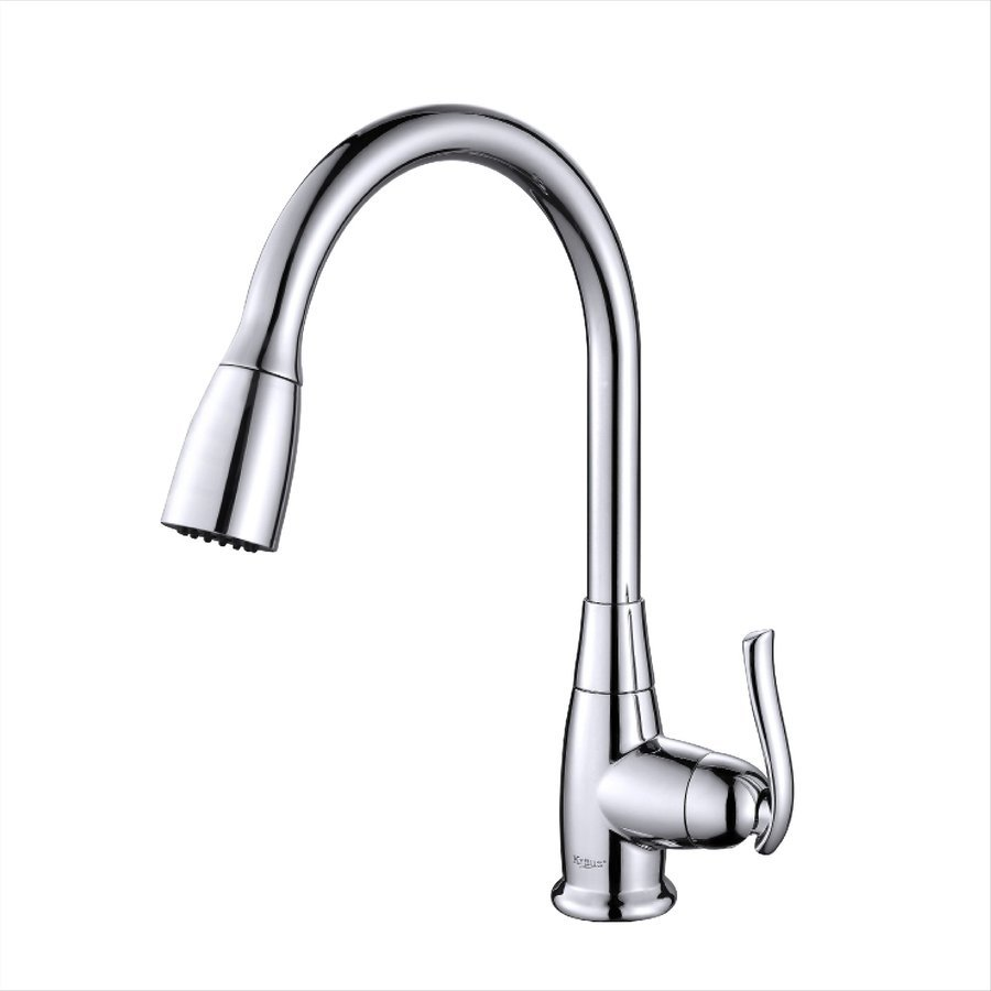 Kraus High Arch One Handle Pull-Out Kitchen Faucet Chrome KPF-2230CH