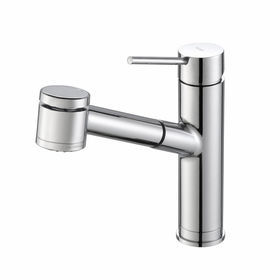 Kraus Oletto One Handle Pull-Out Kitchen Faucet-Chrome KPF-2610CH